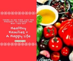Getting your Family Eating Healthy!!!
