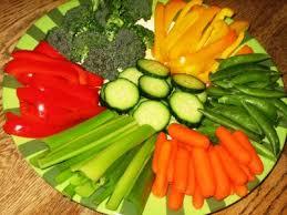 raw food platter